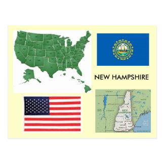 New Hampshire, los E.E.U.U. Tarjetas Postales