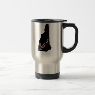 New Hampshire Love!  Gifts for NH Lovers Travel Mug