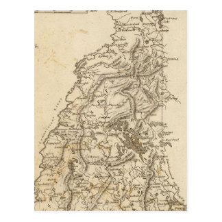 New Hampshire Map by Arrowsmith Postcard