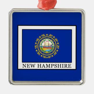 New Hampshire Metal Ornament
