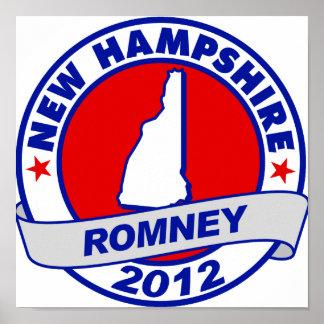 New Hampshire Mitt Romney Posters
