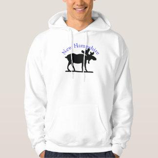 New Hampshire Moose Hoodie
