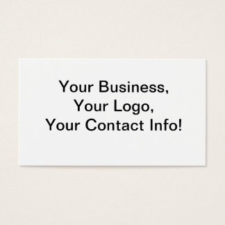 New Hampshire Mountain Lake Business Card