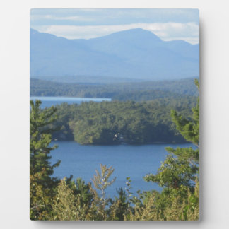 New Hampshire Mountain Lake Photo Plaques