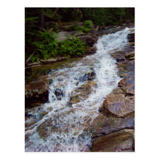 New Hampshire Mountain Water Postcard