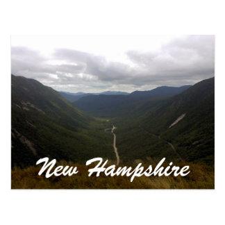 New Hampshire-mt willard gorge Postcard