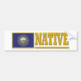 New Hampshire Native Bumper Sticker