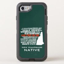 New Hampshire Native Live Free or Die OtterBox Defender iPhone 7 Case