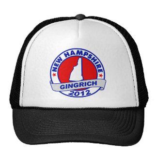 New Hampshire Newt Gingrich Trucker Hat