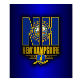 New Hampshire (NH) Poster