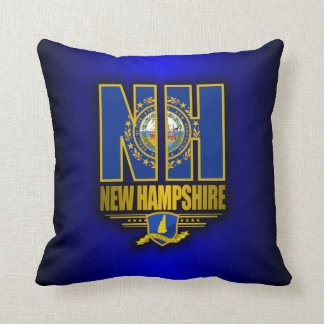 New Hampshire (NH) Throw Pillow