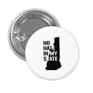 New Hampshire: Ningún odio en mi estado Chapa Redonda 2,5 Cm