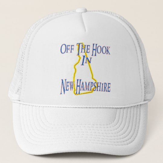 New Hampshire - Off The Hook Trucker Hat
