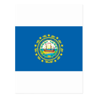 New Hampshire  Official State Flag Postcard