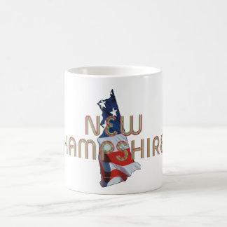 New Hampshire Patriot Classic White Coffee Mug