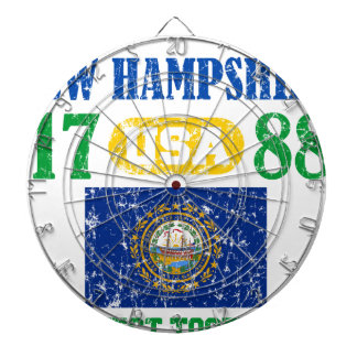 NEW HAMPSHIRE PERFECT TOGETHER DISTRESSED PRODUCTS DART BOARDS