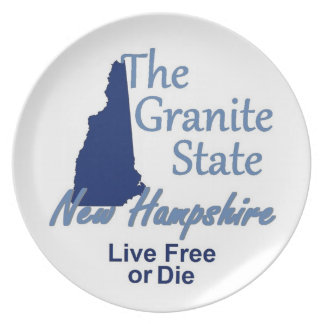 NEW HAMPSHIRE PLATE