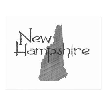 USA Themed New Hampshire Postcard