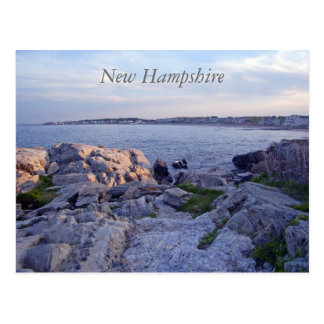 New Hampshire Postcard - Rye Coast