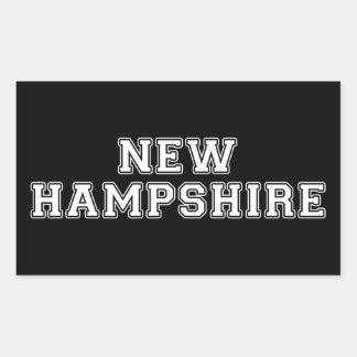 New Hampshire Rectangular Sticker