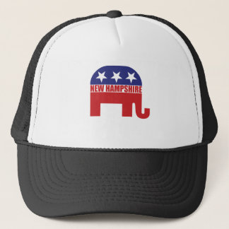 New Hampshire Republican Elephant Trucker Hat