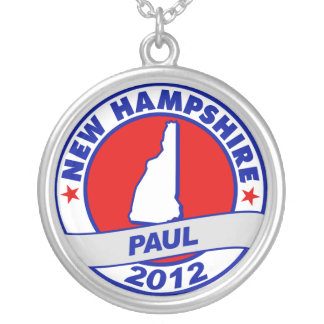 New Hampshire Ron Paul Personalized Necklace