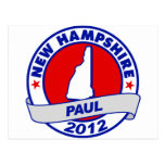 New Hampshire Ron Paul Postcard