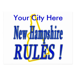 New Hampshire Rules ! Post Cards