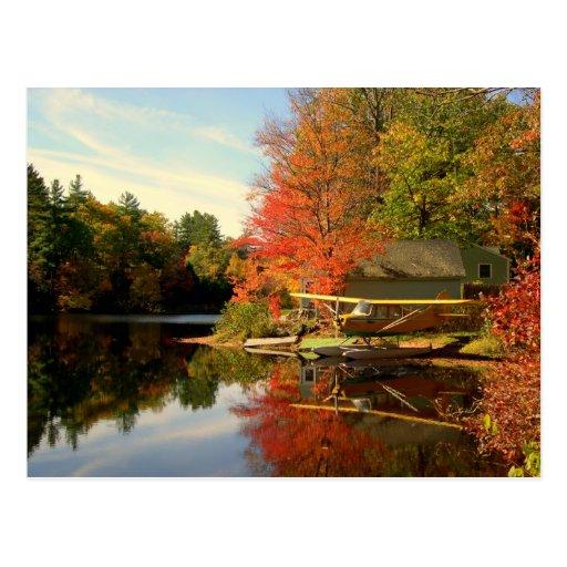 New Hampshire Sea Plane Post Cards