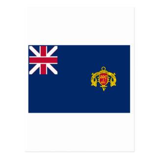 New Hampshire Second Regiment Flag Postcard