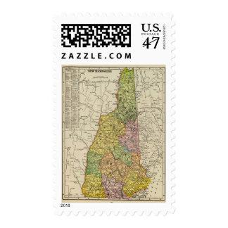 New Hampshire Sello Postal