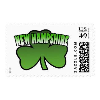 New Hampshire Shamrock Stamps