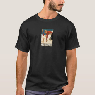 New Hampshire Ski Vintage Poster T-Shirt
