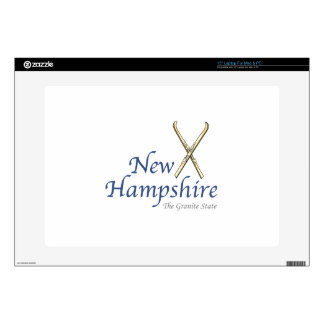 """New Hampshire Decals For 15"""" Laptops"""
