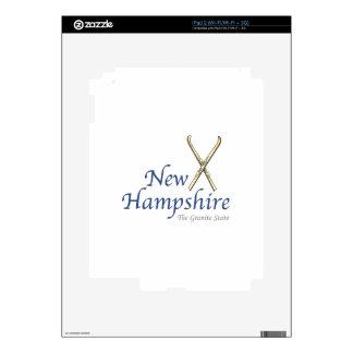 New Hampshire iPad 2 Skins