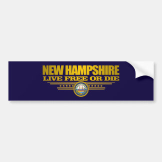 New Hampshire (SP) Pegatina Para Auto