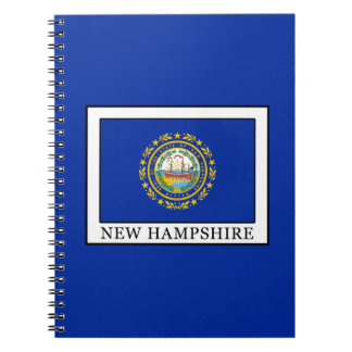 New Hampshire Spiral Notebook