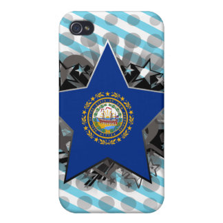 New Hampshire Star iPhone 4 Cases