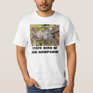 NEW HAMPSHIRE STATE BIRD : THE HORSE FLY T SHIRT