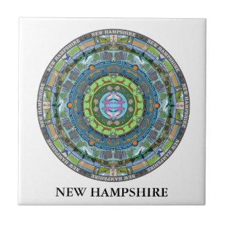 New Hampshire State Ceramic Tile