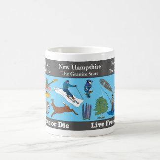 New Hampshire State Commemorative Mug