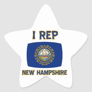 New Hampshire state designs Stickers