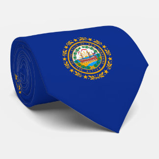 New Hampshire State Flag Design Tie