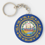 New Hampshire State Flag Keychains