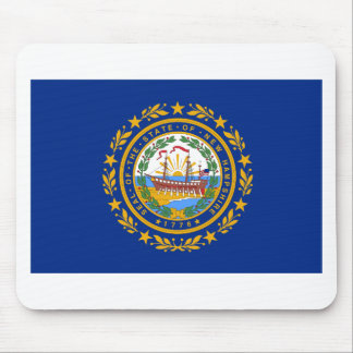 New Hampshire State Flag Mouse Pad