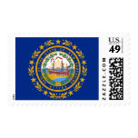New Hampshire State Flag Postage
