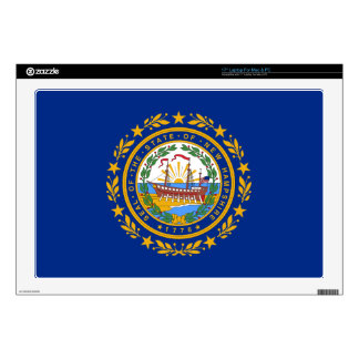 New Hampshire State Flag Laptop Skins