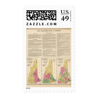 New Hampshire State government Postage Stamps