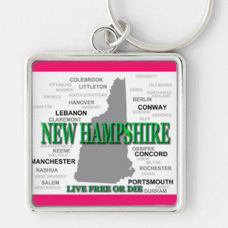 New Hampshire State Keychain