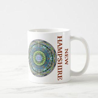 New Hampshire State Mandala Mug
